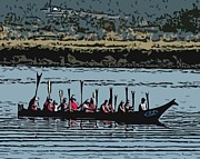 Canoe Originals - Chinook Canoe by James Tweedie