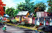 Trinidad Paintings - Chins Parlour     by Karin Best