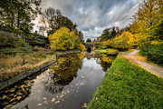 Chirk Canal Print by Adrian Evans