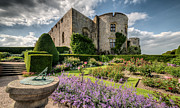 Summer Digital Art Metal Prints - Chirk Castle Metal Print by Adrian Evans