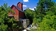 Old Mills Photos - Chittenden Mills. by New England Photography
