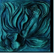Blue Reliefs - Chloris by Dawn Fisher