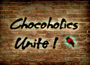 Poster Art Prints - Chocoholics Unite Print by Lois Bailey
