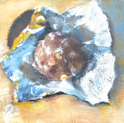 Nuts Paintings - Chocolate bonbon by Timi Johnson