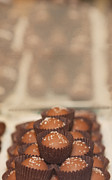 Truffles Prints - Chocolate Candy Shop Print by Kay Pickens