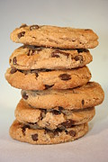 Kitchen Decor Photographs Prints - Chocolate Chip Cookies Print by Ester  Rogers