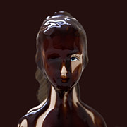 Daniel Furon Metal Prints - Chocolate Dripped Doll Metal Print by Daniel Furon