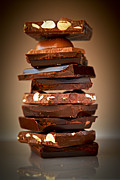 Broken Metal Prints - Chocolate Metal Print by Elena Elisseeva