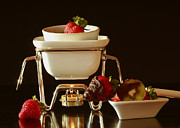 Stylized Food Photos - Chocolate Heaven - Fondue Bliss  by Inspired Nature Photography By Shelley Myke