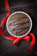 Brunch Prints - Chocolate souffle Print by Mythja  Photography