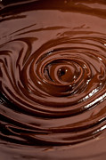 Stir Posters - Chocolate Swirl Poster by Jerry Deutsch