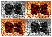 Chocolates Print by Barbara Griffin