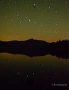 Ursa Minor Posters - Chocorua Stars Poster by Brenda Jacobs