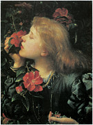 Choosing Painting Metal Prints - Choosing  Metal Print by George Frederic Watts