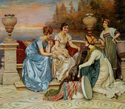 Frederick Digital Art Prints - Choosing The Finest Print by Frederick Soulacroix