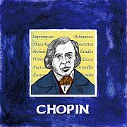 Pianist Posters - Chopin Poster by Paul Helm