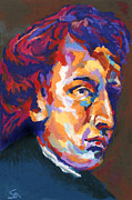 Classical Music Paintings - Chopin by Stephen Anderson