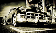 Beach Hop Posters - Chopped Cadillac Coupe Poster by motography aka Phil Clark