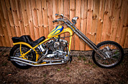 Randall Branham - Chopper Custom Built Harley
