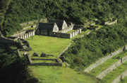 Archaeological Photos - Choquequirao by James Brunker