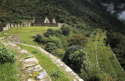 Archaeological Photos - Choquequirao terraces by James Brunker