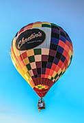 Colorado River Crossing Posters - Chretins Hot Air Balloon Poster by Robert Bales