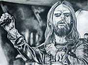 Kim Drawings - Chris Robinson by Kim Chigi