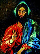 Barbara Leavitt - Christ after El Greco