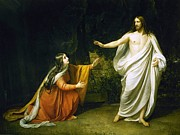 REPRODUCTION - Christ and Mary Magdalene after resurrection