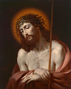 With Prayer Paintings - Christ as Man of Sorrows by Anonymous