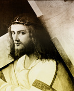 Crucify Art - Christ Carrying the Cross by Digital Reproductions