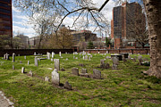 Franklin Art - Christ Church Burial Ground by Kay Pickens
