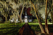 St. Simons Island Art - Christ Church by Debra and Dave Vanderlaan