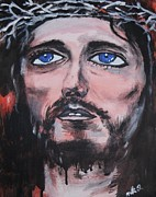 Unconditional Love Prints - Christ  Print by Esther Rowden