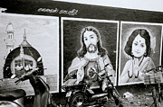 Jesus Christ Icon Prints - Christ In Madras Print by Shaun Higson
