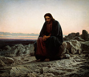 Whistler Paintings - Christ In The Wilderness by MotionAge Art and Design - Ahmet Asar