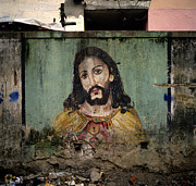 Jesus Christ Icon Prints - Christ Of The Slum Print by Shaun Higson