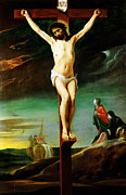 Whistler Paintings - Christ On The Cross by MotionAge Art and Design - Ahmet Asar
