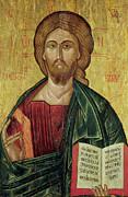 Christ Pantocrator Print by Bulgarian School