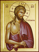 Byzantine Icon Posters - Christ the Bridegroom Poster by Julia Bridget Hayes