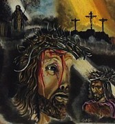 Passion Drawings Originals - Christ The King / The Lord   by Stephan  Rowland