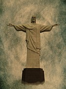 Christ Art Digital Art - Christ the Redeemer Brazil by David Dehner