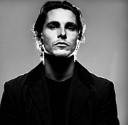 Bale Framed Prints - Christian Bale Poster Framed Print by Sanely Great