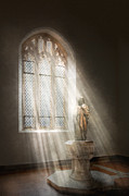 Churches Photos - Christian - Heavenly Father by Mike Savad