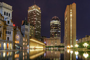 Boston Skyline Art - Christian Science Center-Boston by Joann Vitali