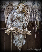 Franklin Tennessee Metal Prints - Christmas Angel Metal Print by Pic