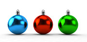 Holiday Decoration Posters - Christmas balls collection Poster by Photocreo Michal Bednarek