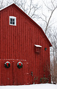 Linda Knorr Shafer - Christmas Barn
