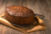 Rack Prints - Christmas Cake Print by Christopher and Amanda Elwell