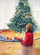 Lifestyle Painting Posters - Christmas  Poster by Carlin Blahnik